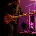 Jayen Varma Bassist Live