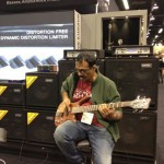 Jayen Varma with Warwick bass