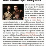 Jayen Varma with Jean Davoisne - BATTEUR MAGAZINE N°248 – Juin 2011  FRANCE