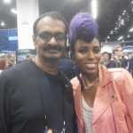 Jayen Varma with Nik West at NAMM show, LA