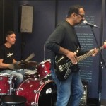 Jean Davoisne and Jayen Varma at NAMM show