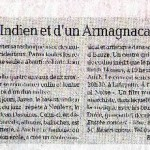 News paper report from France LA DEPECHE
